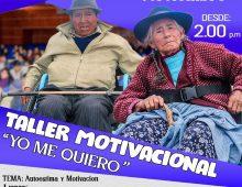 "TALLER MOTIVACIONAL ""YO ME QUIERO"""