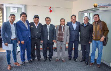 MARIO LOAYZA RECIBIÓ LA VISITA DEL GERENTE GENERAL DEL CLUB CIENCIANO
