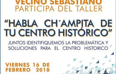 """TALLER – """"HABLA CH'AMPITA DE TU CENTRO HISTÓRICO"""""""