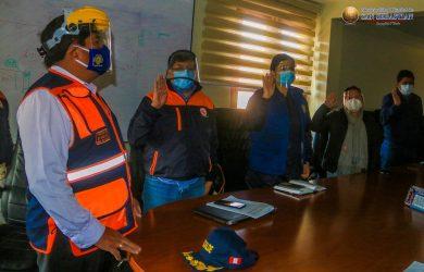 CONFORMACION DE GRUPO DE TRABAJO DE LA GESTIÓN DE RIESGO DE DESASTRES