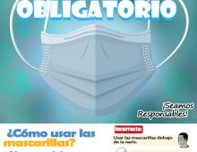 USO DE CASCARILLA OBLIGATORIA