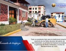 JORNADA DE LIMPIEZA — EN SAN SEBASTIÁN