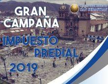 GRAN CAMPAÑA IMPUESTO PREDIAL