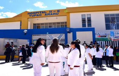 CENTRO DE SALUD DE TUPAC AMARU AHORA ES HOSPITAL II-E