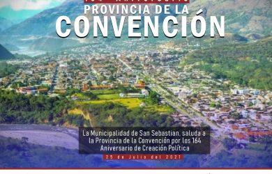 PROVINCIA DE LA CONVENCIÓN