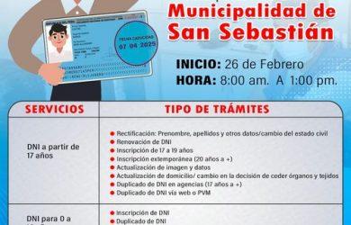 AHORA LOS TRAMITES DE LA RENIEC LO PUEDES HACER EN LA MUNICIPALIDAD