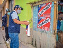 LA MUNICIPALIDAD DE SAN SEBASTIÁN, CONTINUA CON LOS OPERATIVOS INOPINADOS.