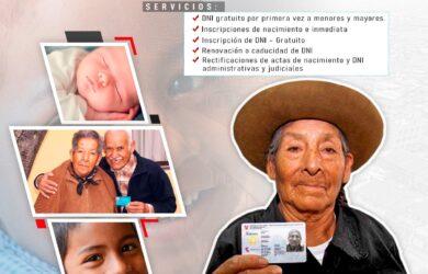 CAMPAÑA DE IDENTIDAD Y ACCESO A DERECHOS DE LAS PERSONAS EN VULNERABILIDAD