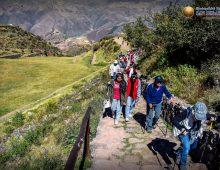 LAS INSTITUCIONES EDUCATIVAS VISITA AL CENTRO ARQUEOLÓGICO