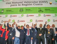 LA PRIMERA PIEDRA DE GAS NATURAL EN CUSCO.