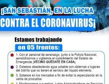 UNIDOS CONTRA EL CORONAVIRUS