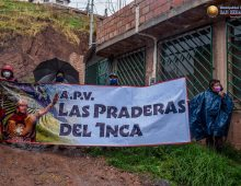 ENTREGA DE VISACIÓN DE PLANOS A LA APV PRADERAS DEL INCA