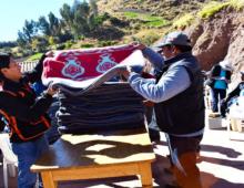 EN PUNACANHA Y KIRKAS CAMPAÑA DE SALUD Y ENTREGA DE FRAZADAS