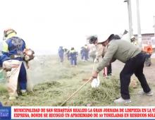 JORNADA DE LIMPIEZA DE LA VÍA EXPRESA
