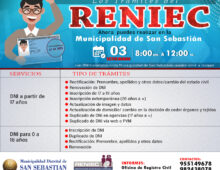 TRÁMITES RENIEC